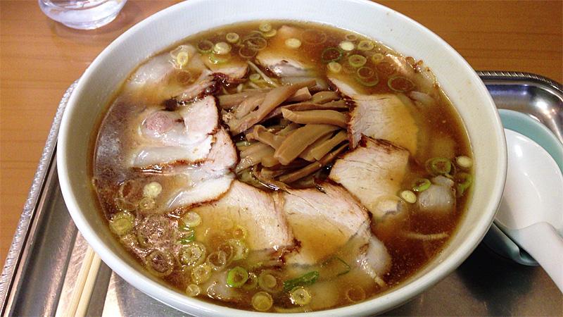 永福町大勝軒 チャーシュー麺