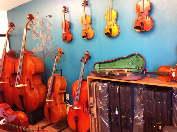 天沢バイオリン工房