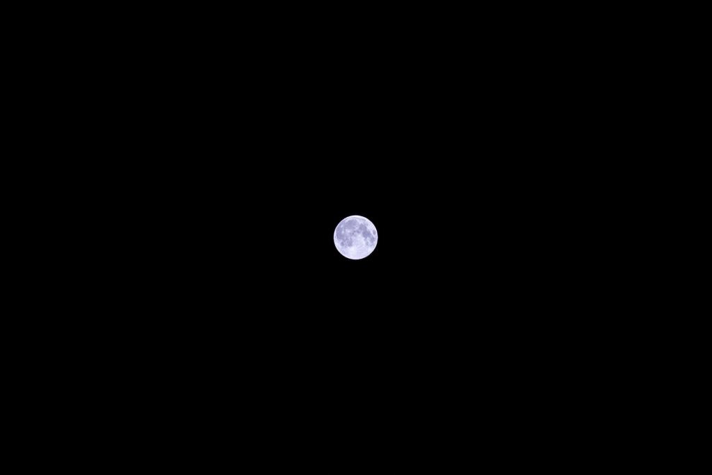 スーパームーン(満月)